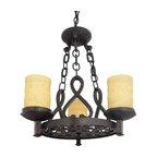Quoizel Lighting - Quoizel LP5003IB La Parra Imperial Bronze 3 Light Chandelier - 3, 100W A19 Medium