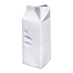 Porcelain Milk Carton