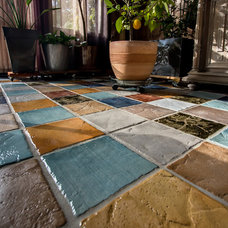 Mediterranean Wall And Floor Tile by Bellecote Home