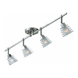 Triarch 25614 Milan Brushed Steel Multi Spotlight