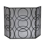 Cyan Design - Orb Fire Screen - Weight: 18.7lbs.
