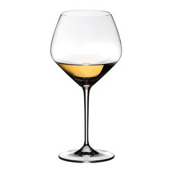 Riedel - Riedel Vinum Extreme Oaked Chardonnay Wineglasses, Set of 2 - Here's to you — your excellent taste in wine and in stemware. These simply extraordinary lead crystal glasses designed expressly for chardonnay are a lovely case in point.