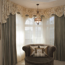 Traditional Window Treatments by Debra Bowis