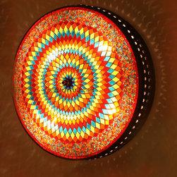 Turkish Style Mosaic Lighting Wall Sconce - Code: HD-20003_25