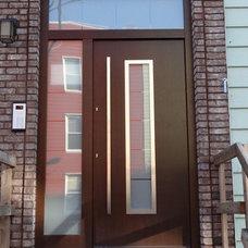 Front Doors by Liberty Windoors Corp.