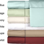 Grand Luxe - Grand Luxe Bellisimo Egyptian Cotton Sateen Deep Pocket 500 Thread Count Sheet S - Update your bed's look and feel with this luxurious cotton sheet set. The fitted sheet is elasticized,making it easy to use,while the flat sheet is extra large to cover your bed thoroughly. Choose from a variety of colors to match your decor.