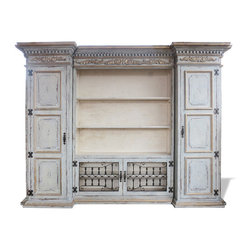 Entertainment and Media Centers - This furnishing and decor pieces, offered by Koenig Collection, is a high quality eco-friendly home furniture product that will last you for generations. Our family factory in Peru hand crafts and hand paints each piece we manufacture with intricate unmatched detail.