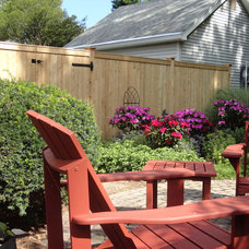 Contemporary Fencing by West Hartford Fence Co., LLC