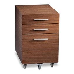 BDI - BDI | Sequel® 3-Drawer Mobile File Pedestal 6007 - Design by Matthew Weatherly.