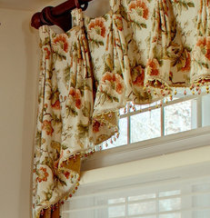 traditional window treatments by Marina Klima Goldberg - Klima Design Group