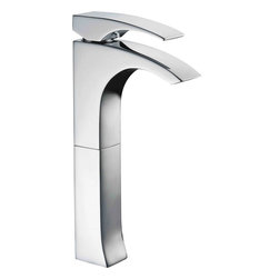 ALFI brand - ALFI brand AB1587 Single Lever Tall Modern Bathroom Faucet Polished Chrome - This single hole tall vessel faucet by ALFI brand will add the finishing touch to any bathroom decor. Smooth rounded edges and a comfortable lever handle make this faucet the perfect choice.