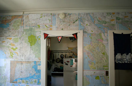 Eclectic  Wall of maps