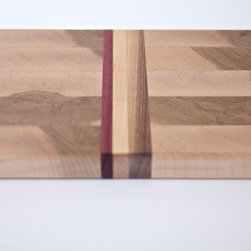 Small Hard Maple End-Grain Cutting Board - Small rectangle end-grain cutting board.