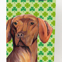 Caroline's Treasures - Vizsla St. Patrick's Day Shamrock Portrait Michelob Ultra Koozies for slim cans - Vizsla St. Patrick's Day Shamrock Portrait Michelob Ultra Koozies for slim cans SC9298MUK Fits 12 oz. slim cans for Michelob Ultra, Starbucks Refreshers, Heineken Light, Bud Lite Lime 12 oz., Dry Soda, Coors, Resin, Vitaminwater Energy, and Perrier Cans. Great collapsible koozie. Great to keep track of your beverage and add a bit of flair to a gathering. These are in full color artwork and washable in the washing machine. Design will not come off.