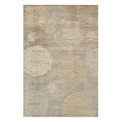 Momeni Rug - Momeni Rug Zen 5' x 8' ZEN-3 Beige ZEN00ZEN-3BGE5080 - Bring tranquility to any modern living space with the beautiful Zen Collection. Quietly appealing designs and colors in these hand tufted rugs bring grace and calm to balance out today�s fast paced lifestyle. The Zen Collection is the perfect antidote to the hustle and bustle of modern living and everyone needs a soothing and serene space to escape.