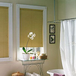 "Bali Essentials 1"" Lightblocker Vinyl Blinds - Bali vinyl mini blinds are durable, versatile and fashionably colorful to meet any decorating need."