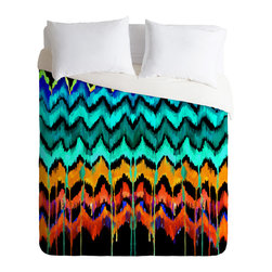 DENY Designs - Holly Sharpe African Essence Duvet Cover - Turn your basic, boring down comforter into the super stylish focal point of your bedroom. Our Luxe Duvet is made from a heavy-weight luxurious woven polyester with a 50% cotton/50% polyester cream bottom. It also includes a hidden zipper with interior corner ties to secure your comforter. it's comfy, fade-resistant, and custom printed for each and every customer.
