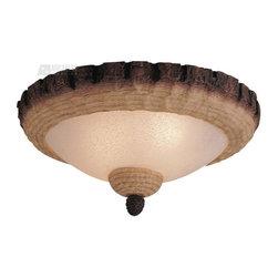 Monte Carlo Fan - Monte Carlo Fan Lodge Pine Bowl Ceiling Fan Light Kit X-L-301CM - Monte Carlo Fan Lodge Pine Bowl Ceiling Fan Light Kit X-L-301CM