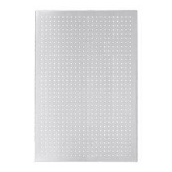 Blomus - MURO Perforated Magnet Board, Large - The MURO Perforated Magnet Board is versatile enough for all your home or office needs. Use as an inspiration board to pin up your most important reminders, notes, cherished travel mementos and photographs all in one place. Use hooks (not included) on the perforations and hang your kitchen utensils for unique display and organization.