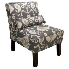 Java Ikat Slipper Chair product details page