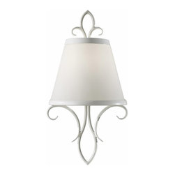 Murray Feiss Lighting - Murray Feiss Lighting-WB1486SGW-Peyton Saltspray - One Light Wall Sconce - *Shade Included.