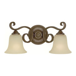 Murray Feiss - Murray Feiss Vista Traditional Wall Sconce X-BC-20401SV - Enliven your bathroom or living room with the Murray Feiss Vista Traditional Wall Sconce - MRF-VS10402-CB. The curving styling offers a pleasant alternative to more cumbersome fixtures. The cream snow glass shades provide a soothing pleasure and a friendly glow suitable for all occasions. The smooth luster of this piece blends well with almost any surface.