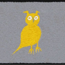 Home Infatuation - Owl Design Outdoor Rug - This indoor/outdoor area rug is derived from the imaginative series of original art work created by artist David Milliken. Elements from the paintings are extracted to create whimsical, humorous and abstract decorative solutions for both indoors and outside.