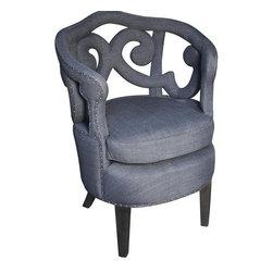 NOIR - NOIR Furniture - Penelope Chair - SOF224P - Features: