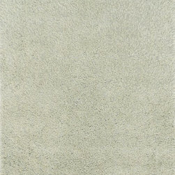 "Loloi Rugs - Loloi Rugs Fresco Shag Collection - Seafoam Green, 5' x 7'-6"" - The new Fresco Shag Collection is hand-tufted in China of 100-percent polyester. Thin and thick yarns strategically are tufted into place for a textured look that is totally chic. Surprisingly affordable, Fresco shags come in a lively variety of colors: mocha, storm, red, ivory, beige, bronze, ash, sea-foam green and peacock."