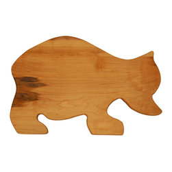 Shark Shade / Martin Carts - Bear Hard Maple Cutting Board - Made with Rock Hard Maple Planks