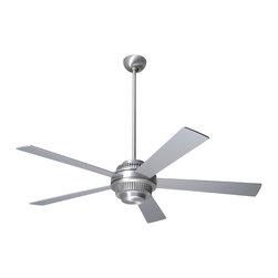 """Modern Fan Company - Modern Fan Company Solus Brushed Aluminum 42"""" Ceiling Fan + Wall Control - Features:"""