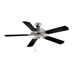 "Vaxcel Lighting - Vaxcel Lighting FN52288 Medallion 52"" 5 Blade Indoor Ceiling Fan - Features:"