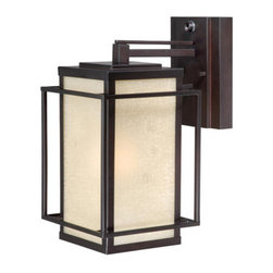 Vaxcel Lighting - Vaxcel Lighting RB-OWD070 Robie 1 Light Outdoor Wall Sconce - Features:
