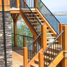 Modern Fencing by Century Aluminum Railings