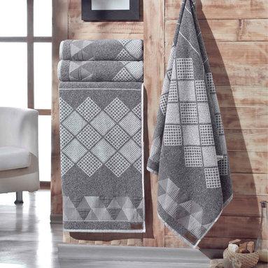 Enchante Concorde Turkish Cotton Bath Towel (Set of 2) -