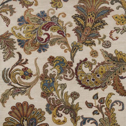 """Loloi Rugs - Loloi Rugs Willow Collection - Ivory, 5'-0"""" x 7'-6"""" - The hand-tufted Willow Collection features smart transitional designs made of 80-percent New Zealand wool and 20-percent viscose in India."""