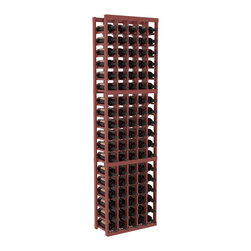 Wine Racks America - 5 Column Standard Wine Cellar Kit in Pine, Cherry + Satin Finish - Growing wine bottle collections fit nicely in this 5 column design. Rock solid fabrication in pine or redwood materials makes wine storage a stress free hobby. Whether beginning or expanding your wine cellar, these racks are sure to please. We guarantee it.