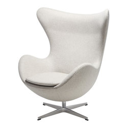Egg Chair by Arne Jacobsen available at SUITENY.COM - Available at SUITENY.COM