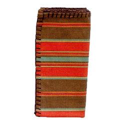 Silverado Home - Corfu Stripe Napkin Set - Sold in Sets of 4: