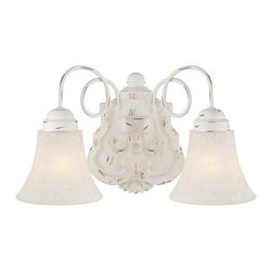 Minka Lavery - Minka Lavery 1292-648 2 Light Bathroom Vanity Light from the Accents Provence Co - Two Light Bathroom Vanity Light from the Accents Provence CollectionFeatures:
