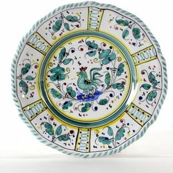 Artistica - Hand Made in Italy - ORVIETO: Dessert/Bread Plate - ORVIETO Collection: This is a very old and traditional pattern that originated during the Renaissance in the hill-top town of Orvieto - Italy.