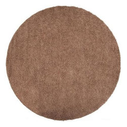 Unbranded - Area Rug: Christina Mushroom 4' Round - Shop for Flooring at The Home Depot. Machine made in 100% polypropylene, this shag rug features a plush pile and no shedding. The color mushroom accents this area rug. Add fun to your space with the Christina collection.