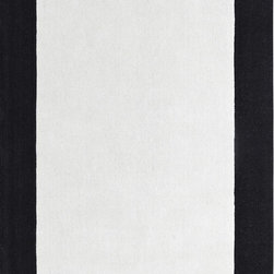 Dynamic Rugs - Dynamic Rugs Manhattan 6566-109 (Ivory, Black) 4' x 6' Rug - This Hand Made rug would make a great addition to any room in the house. The plush feel and durability of this rug will make it a must for your home. Free Shipping - Quick Delivery - Satisfaction Guaranteed