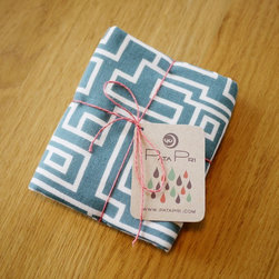 Maze Small Towel 31 by Pata Pri - The pattern and color on this are just gorgeous. It will go in any classic or modern kitchen.