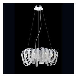 Eurofase Lighting - Eurofase Lighting 26596 Sage 8 Light 1 Tier Chandelier - Features: