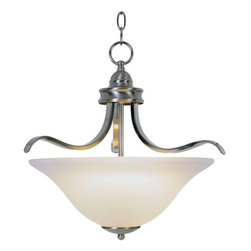 Premier - One Light Sanibel 17.5 inch Pendant Fixture - Brushed Nickel - Premier 617201 Sanibel Lighting Collection 1 Light Pendant, Brushed Nickel, 17-1/2in. W by 16-1/2in. H.