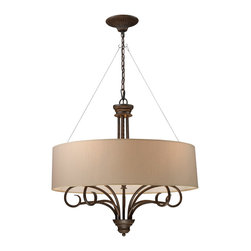 ELK Lighting - ELK Lighting 20133 Retrofit Drum Shades in Taupe - This Shade from the Retrofit Drum collection by ELK will enhance your home with a perfect mix of form and function. The features include a Taupe finish applied by experts. This item qualifies for free shipping!
