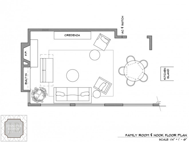 Eclectic  Space Planning