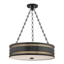 HUDSON VALLEY LIGHTING - Hudson Valley Lighting Gaines-Pendant Aged Old Bronze - Free Shipping