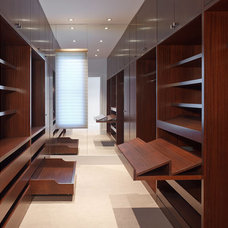 Contemporary Closet Storage by Citation Kitchens